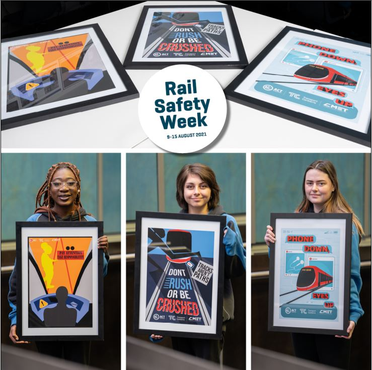 3 finalists of 2021 Safety Poster Competition