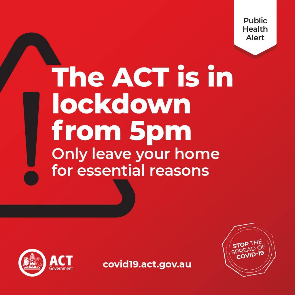 ACT Is In Lockdown